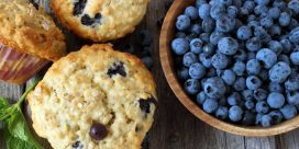 Recipe: Blueberry Oatmeal Muffins