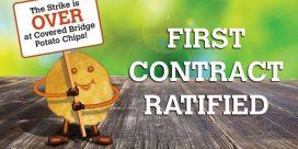 Strike Ends at Covered Bridge Potato Chips