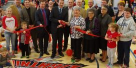 Meduxnekeag Consolidated School officially opened in Woodstock