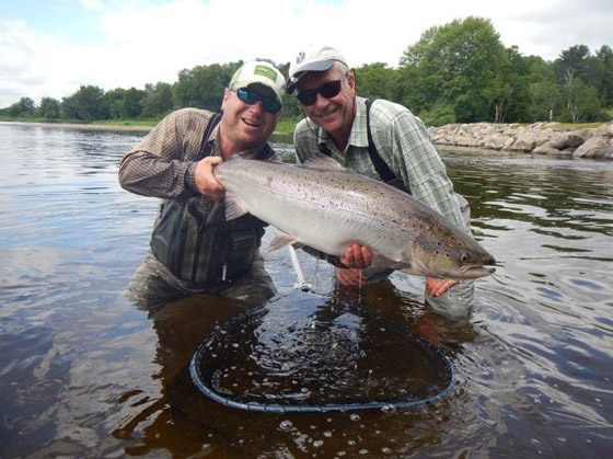 Miramichi Fishing Report for Thursday, July 21, 2016