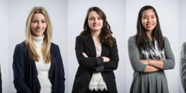 Five students win UNB's prestigious Currie Scholarships
