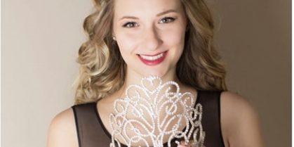 2016 Miss New Brunswick is Marielle Ouelette