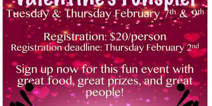Valentine's Funspiel at the Grand Falls Curling Club