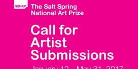 Call for Artist Submissions, $30,000 in Awards, The Salt Spring National Art Prize
