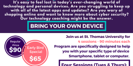 Technology Coaching for Seniors on Tuesdays and Thursdays