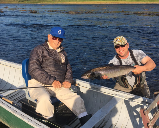 Miramichi Fishing Report for Thursday, September 28, 2017
