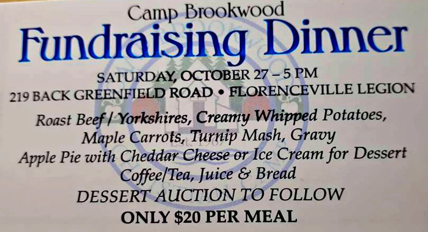 Camp Brockwood Christian Camp Fundraising Dinner