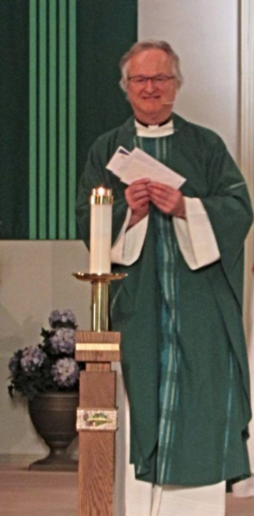 "Retirement Celebration for Father Joseph Arnold ""Arnie"" Hachey"