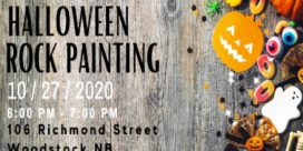 BBCY (Big Brothers Big Sisters of Carleton York) Halloween Rock Painting for Ages 6 to 12