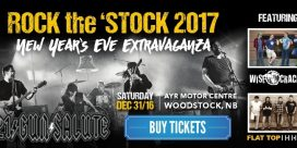 Rock the 'Stock 2017 New Year's Eve Extravaganza